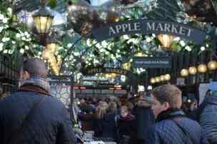 Apple Market de Convent Garden